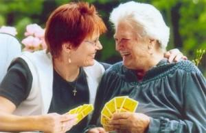 Hospizhelfer-Kartenspiel